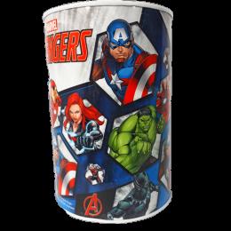 Skarbonka dla dzieci metalowa puszka nieotwierana Avengers