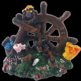 Sztuczna dekoracja do akwarium ster koralowce skały