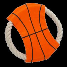 Szmaciane frisbee dla psa / pomarańczowy latający dysk zabawka