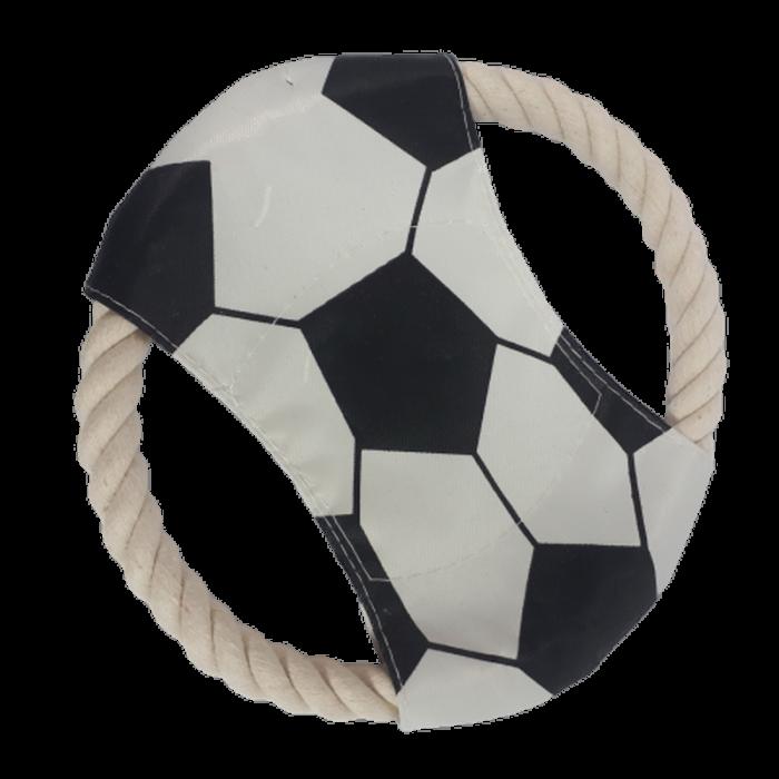 Szmaciane frisbee dla psa / biały latający dysk zabawka dla psów