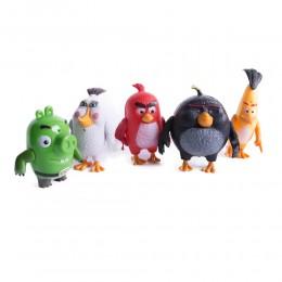 ANGRY BIRDS figurki zabawki dla dzieci komplet 5 sztuk