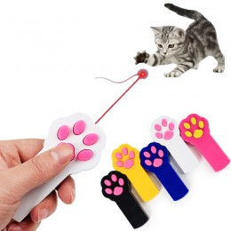 Mocny laser wskaźnik laserowy dla kotów / zabawka dla kota ŁAPKA