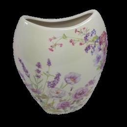 Wazon ceramiczny styl prowansalski LAWENDA ŁĄKA
