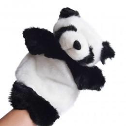 Pluszowa pacynka na rękę kukiełka PANDA / zabawa w teatrzyk