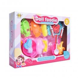 Zestaw kuchenny małe AGD dla dziecka + owoce morza /zabawki SMALL FOOT