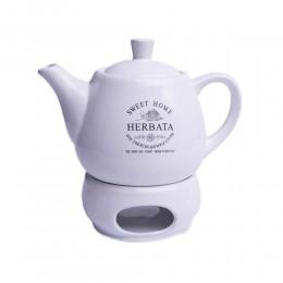 Ceramiczny czajnik z podgrzewaczem SWEET HOME