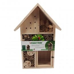 Eko duży domek dla owadów pożytecznych pszczół hotel dla owadów