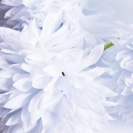 Sztuczny czosnek kwiat 5 sztuk niebieski / sztuczny kwiat czosnku
