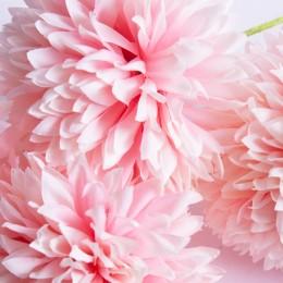 Sztuczny czosnek kwiat  sztuk różowy / sztuczny kwiat czosnku