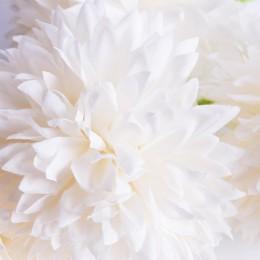 Sztuczny czosnek kwiat 5 sztuk ecru / sztuczny kwiat czosnku