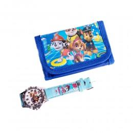 Zestaw dla dziecka portfel zegarek PSI PATROL