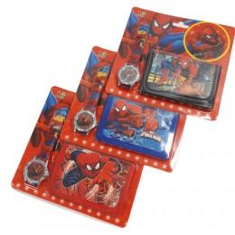 Zestaw dla dziecka portfel zegarek SPIDERMAN SPIDER