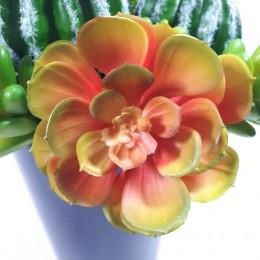 Sztuczny kaktus rozchodnik sukulent 11cm na piku do kompozycji kwiatowych