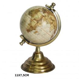 Globus dekoracyjny mapa świata dekoracja w stylu kolonialnym retro vintage