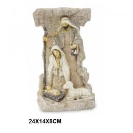 Szopka bożonarodzeniowa figurka Święta Rodzina Maryja Józef Jezus