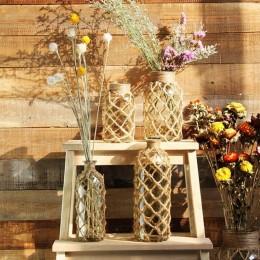 Naturalny sznurek ozdobny na szpulce 10M / sznurek do dekoracji