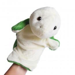 Pluszowa pacynka na rękę ŻÓŁW kukiełka maskotka dla dziecka