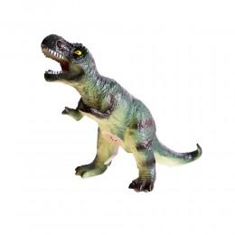 Dinozaur duży gumowy malowany figurka dino Tyranozaur