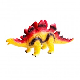 Dinozaur duży gumowy malowany figurka dino Stegozaur