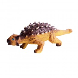 Dinozaur duży gumowy malowany figurka dino Ankylozaur