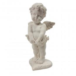 Aniołek amorek figurka dekoracyjna na upominek / amorek z łukiem