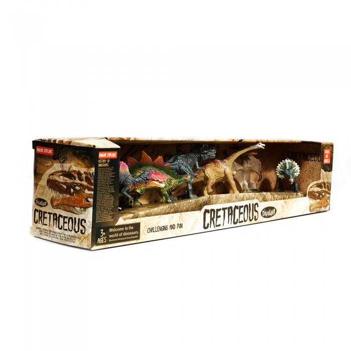Zestaw figurek dinozaurów 6szt