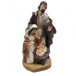 Szopka bożonarodzeniowa Święta Rodzina Maryja Józef Jezus 26cm