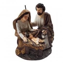 Święta Rodzina 14,5 cm/ szopka / stajenka / dekoracja bożonarodzeniowa