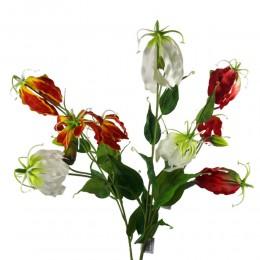 Glorioza sztuczna / gloriosa sztuczny kwiat gałązka