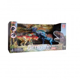 4 figurki dinozaurów dla dzieci