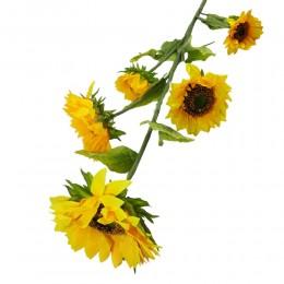 Sztuczne słoneczniki / ogromny sztuczny słonecznik gałązka 137cm