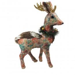 Renifer figurka świąteczna 50cm / sarenka ozdoba na Boże Narodzenie