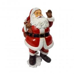 Święty Mikołaj z prezentami 24 cm / figurka na święta ozdoba na zimę