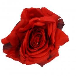 Róża główka wyrobowa czerwona 10cm / sztuczne róże główki