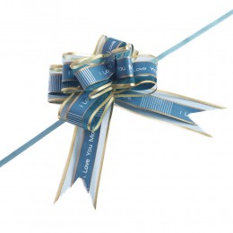 Wstążki ściągane kokardy 10szt. / wstążka kokarda pakowanie prezentów