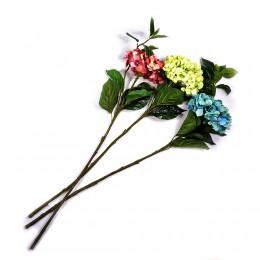 Hortensja sztuczna gałązka pojedyncza 95 cm