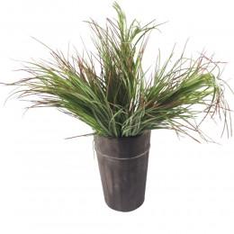 Sztuczna trawa ozdobna wiązka bukiet / trawa sztuczna zielona 75cm
