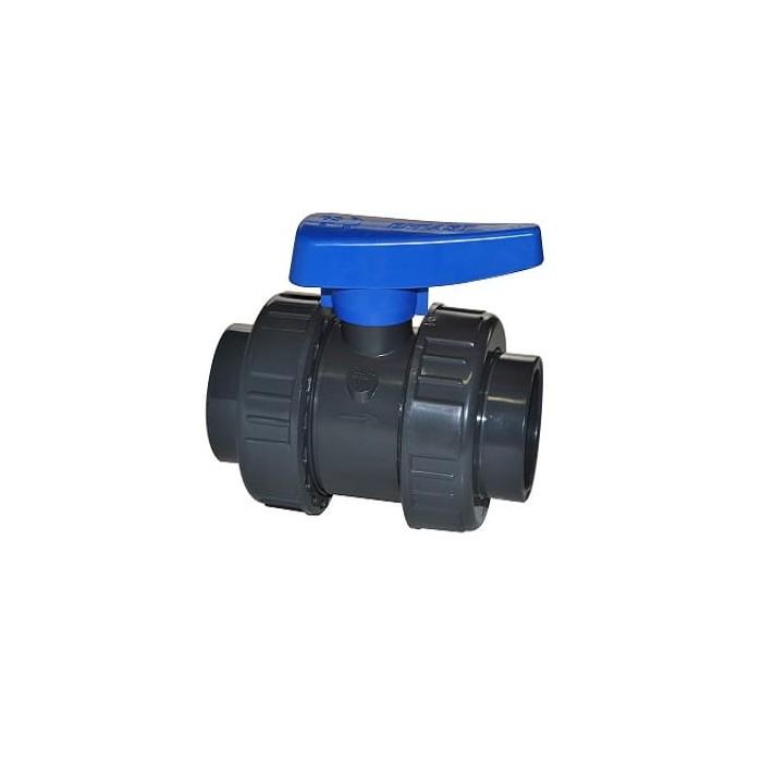 Zawór kulowy BVD PVC-U od 16 do 110 mm