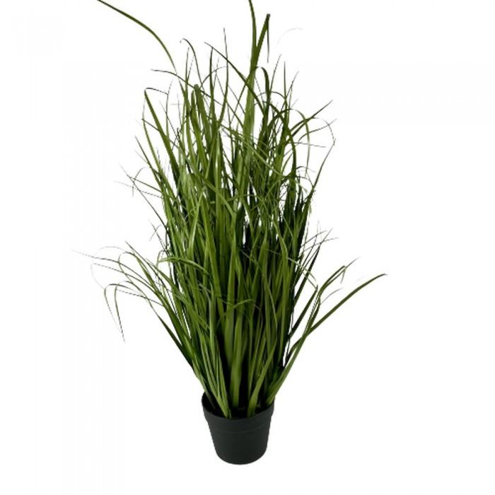 Duża gęsta sztuczna trawa w doniczce jak prawdziwa h 90cm