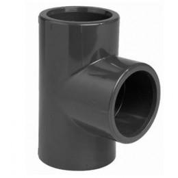 Trójnik hydrauliczny PVC-U 90° PN16