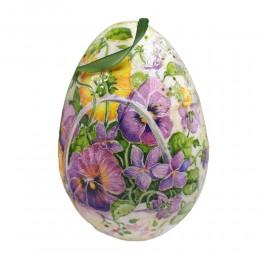 Pisanka jajko wielkanocne decoupage sprzedam motyw BRATKI