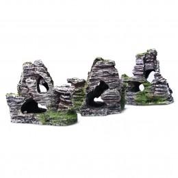 Sztuczna skała z jaskinią do akwarium