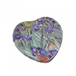 Podręczne lusterko kosmetyczne do torebki SERCE / lusterko podręczne