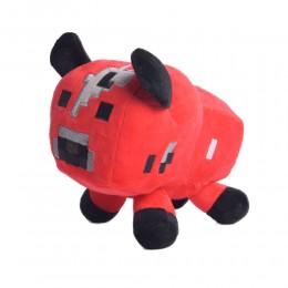 Grzybowa krowa pluszak maskotka z gry Minecraft z przyssawką do szyby