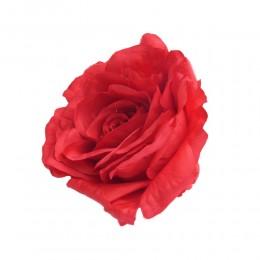 Róża główka wyrobowa czerwona / sztuczne róże główki wyrobowe