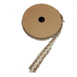 Pleciony sznurek ozdobny jutowy 1,3M / sznurek dekoracyjny decoupage