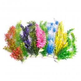 Duża sztuczna roślina do akwarium