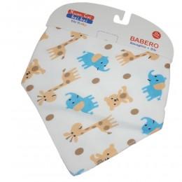 Apaszka dla dzieci SAFARI chustka na szyję dziecka zapinana na napy
