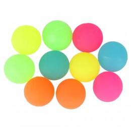 Piłeczka piłka kauczukowa neonowa / piłeczki dla dzieci gumowa 2,5 cm