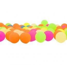 Piłeczka piłka kauczukowa neonowa / piłeczki dla dzieci gumowa 3 cm